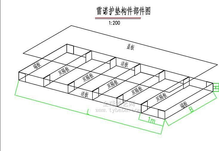 雷诺护垫网箱结构图