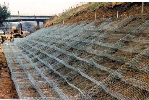 河道护坡雷诺护垫材质规格图片