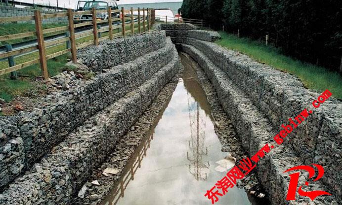 河道护坡雷诺护垫工程案例