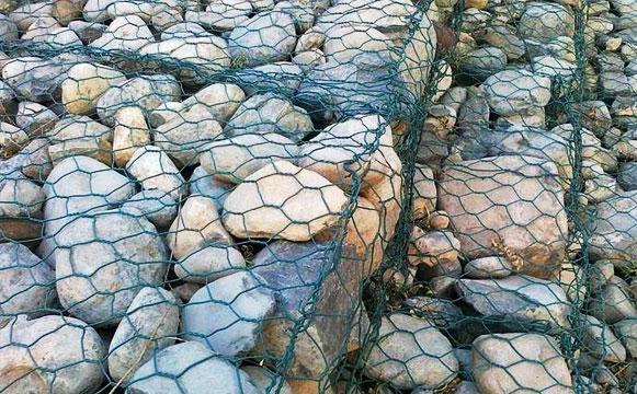 石笼网应用图工程图