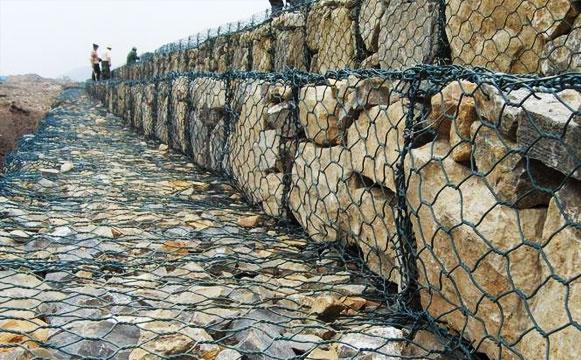 石笼网挡墙工程案例